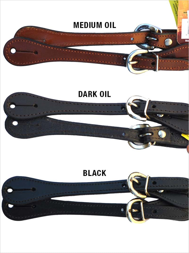 Ladies Leather Show Western Spur Straps 78-3643L J.C. Western® Wear - J.C. Western® Wear
