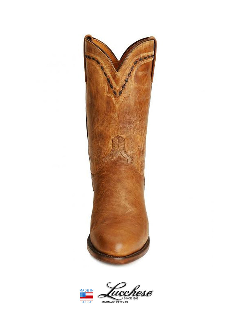 Men's Lucchese 1883 Mad Dog Leather Roper Boots T0121 / T6178