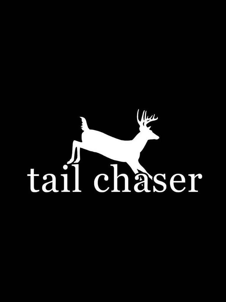 "Tail Chaser Bumper Decal Sticker - 12"" X 5"""