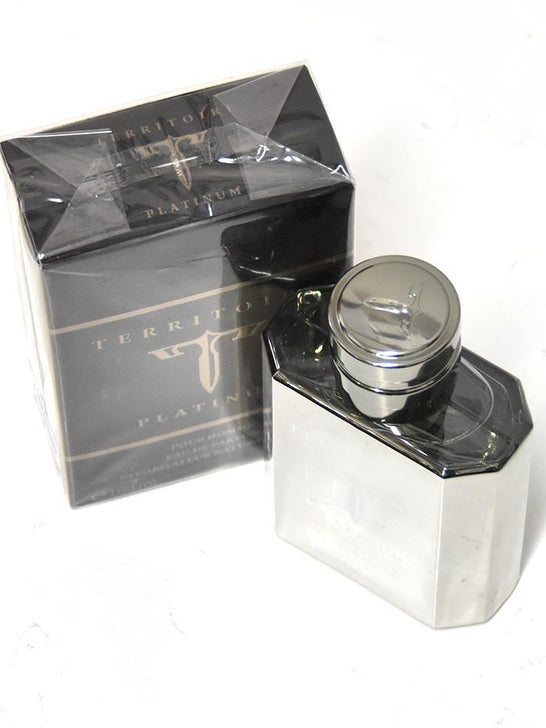 Authentic Territoire Platinum 3.4oz Cologne Spray for Men