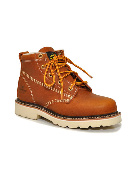 Thorogood 414-4010 Youth Tucker Plain Toe LaceUp Boots Gladiator Tan