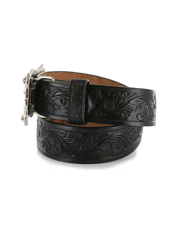 Tony Lama C60113 Kids Little Texas Belt Black