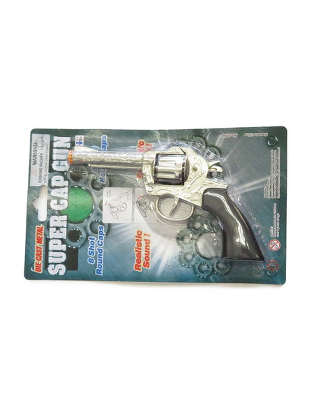 M&F Super Cap Metal Revolver Toy Guns