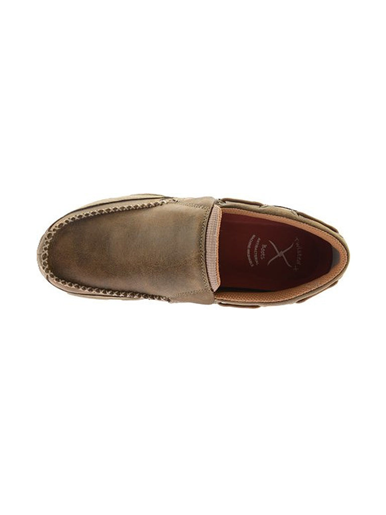 Men's Twisted X Slip On Driving Moccasin MDMS002 Twisted X - J.C. Western® Wear