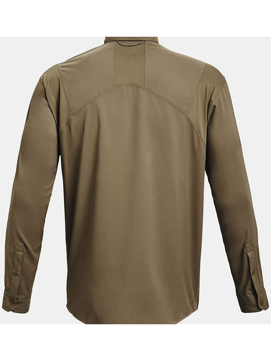 Under Armour 1351121-251 Mens Tide Chaser 2.0 Long Sleeve Shirt Brown back