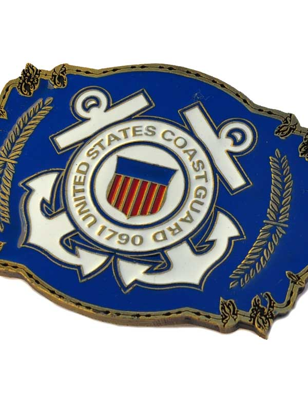 United States Coast Guard 1970 Authentic Belt Buckle B0124