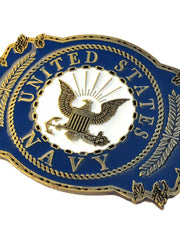 United States Navy Pewter Belt Buckle B0121