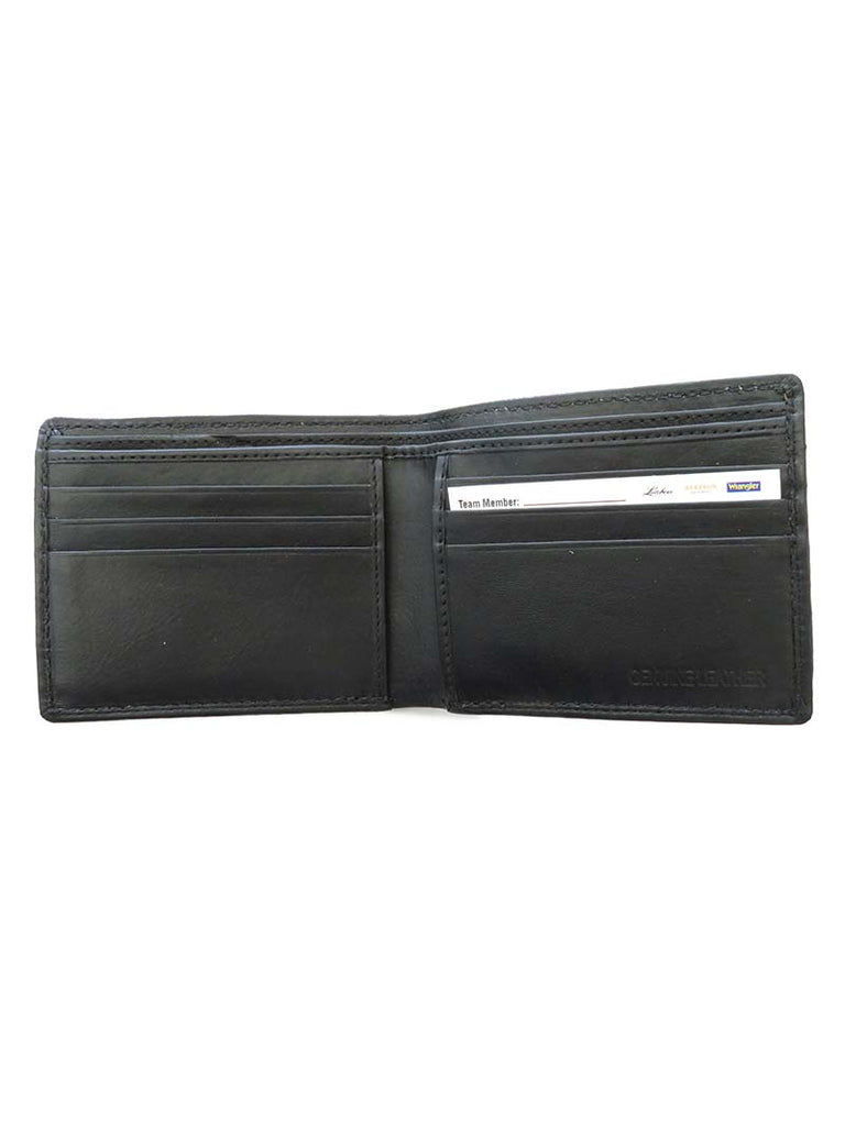 Men's RFID Blocking Caiman Bi-Fold Wallet 7205-GRN