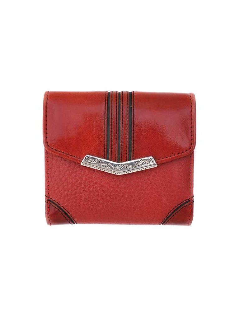 Brighton Highland Petite Red Leather Small Wallet T10037 Brighton - J.C. Western® Wear