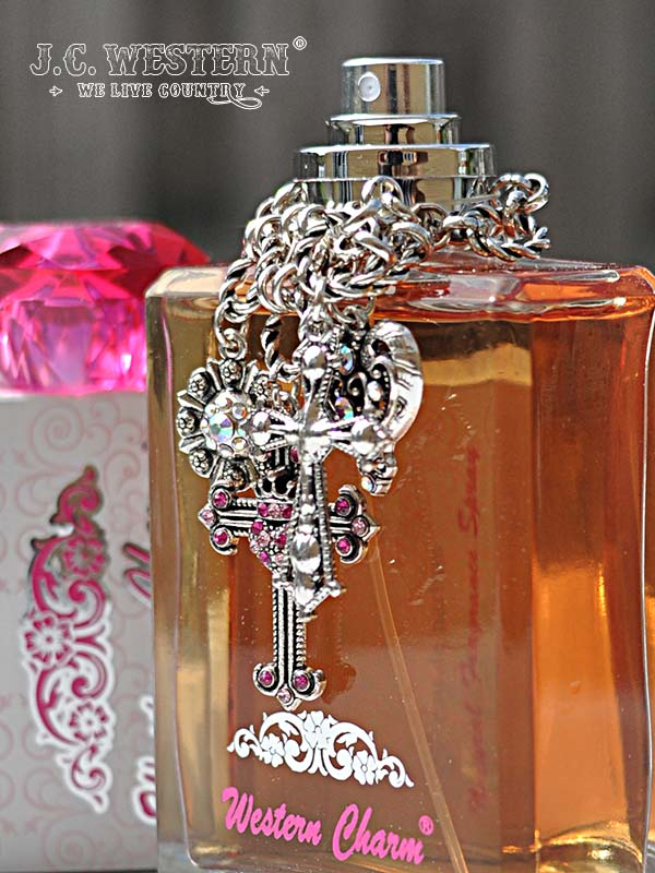 Women's Authentic Western Charm Perfume 39002 Front View