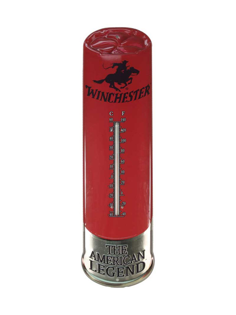 River's Edge Winchester Tin Thermometer REP1365 J.C. Western® Wear - J.C. Western® Wear