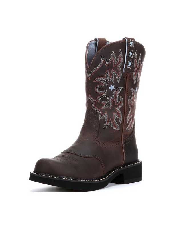 Ariat 10001132 Womens Probaby Western Boot Driftwood Brown