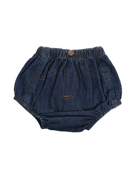 Wrangler Infant Denim Diaper Cover 11MWIPW FRONT VIEW