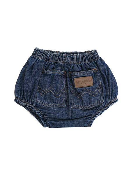 Wrangler Infant Denim Diaper Cover 11MWIPW BACK VIEW