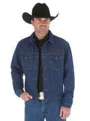 Wrangler Heavyweight Prewashed Western Denim Jacket 74145PW Wrangler - J.C. Western® Wear