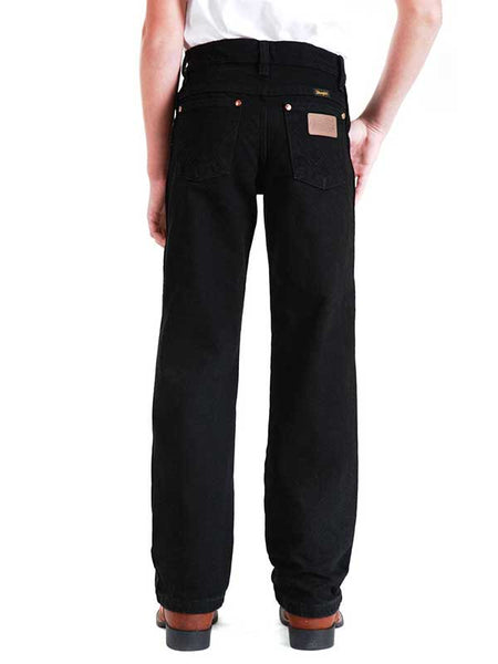 Boy's Wrangler ProRodeo Cowboy Cut Black Original Fit Jean 13MWJBK 13MWBBK