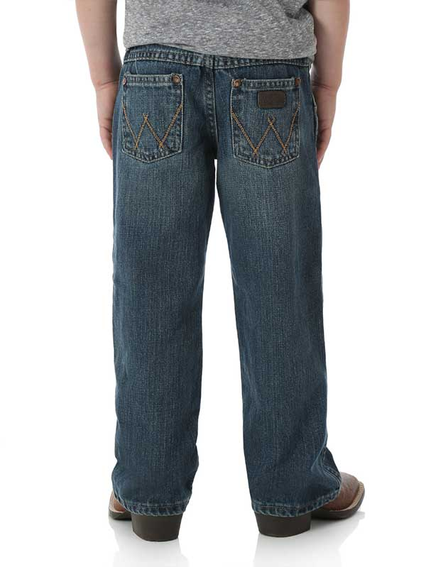 Wrangler Boys Retro Night Sky Boot Cut Jean JRT20NS