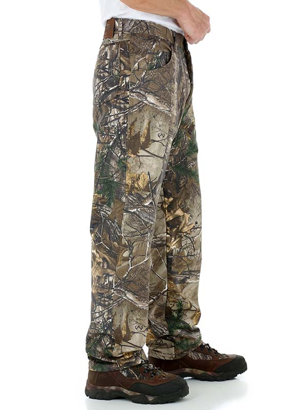 Men/'s Wrangler Pro Gear Relaxed Fit Realtree Camo Pants NWT
