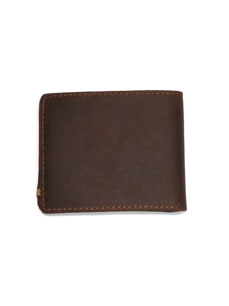 Wrangler Corner Trim Traveler Bi-Fold Leather Wallet 49012