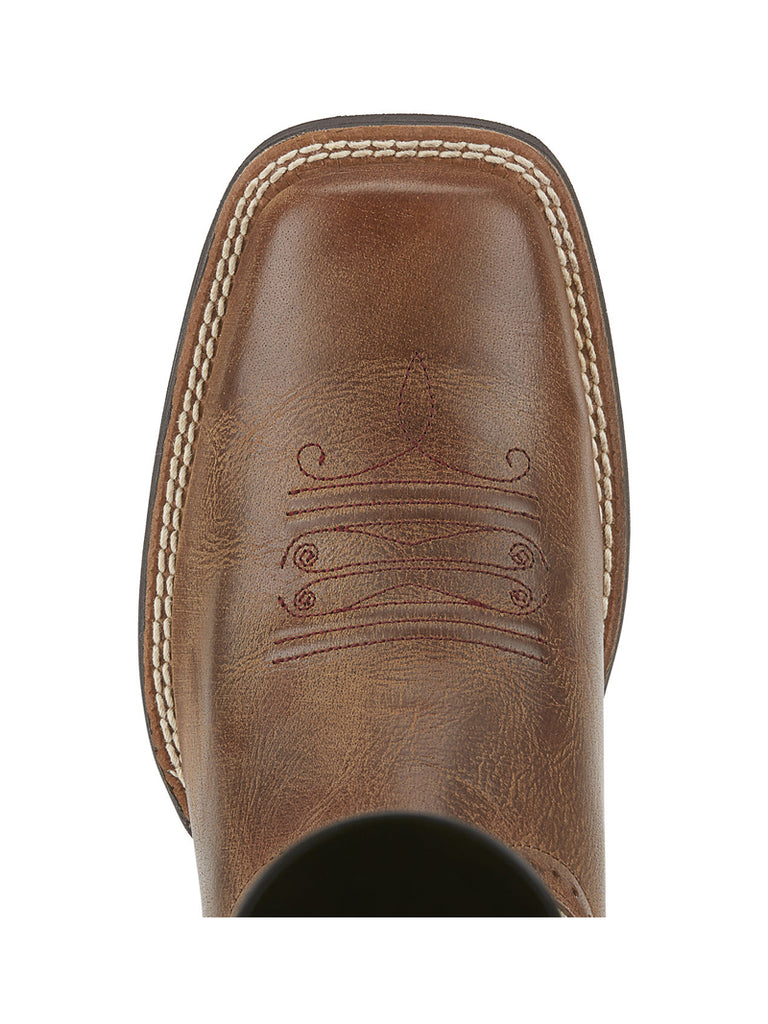 Ariat 10015318 Womens Square Toe Quickdraw Cowgirl Boot Sandstorm