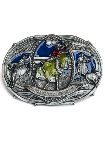 Championship Rodeo USA Made Oversized Belt Buckle J-180