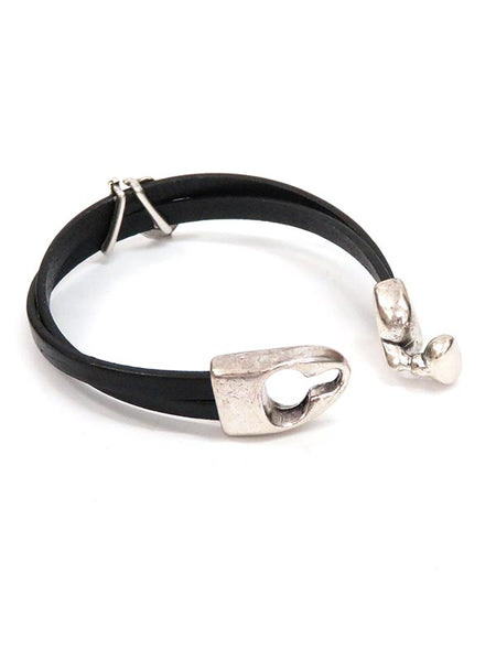 Southwest Leather Running Horse Western Bracelet BL003 Clasp
