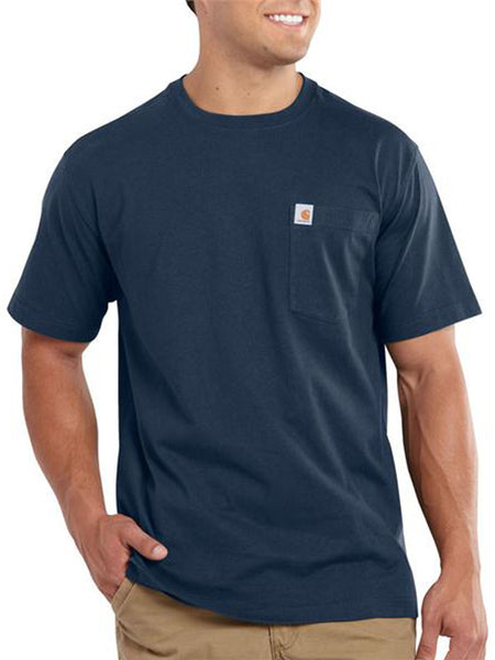 Carhartt Workwear Pocket Short-Sleeve T-shirt - Navy Blue Carhartt - J.C. Western® Wear