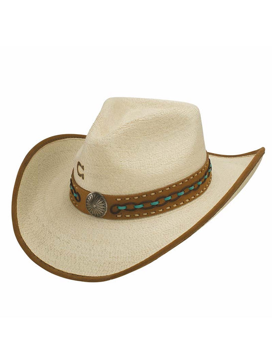 Charlie 1 Horse Cowgirl White Lie Palm Leaf Straw Hats CSWHLI-4034 Alt View