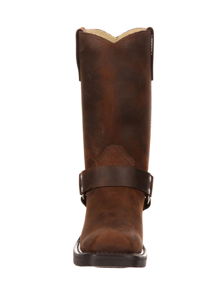 Women's Durango Distressed Brown Harness Boot - RD594 Durango - J.C. Western® Wear