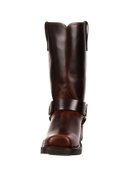 Durango DB514 Mens Harness Square Toe Boot Brown - J.C. Western® Wear