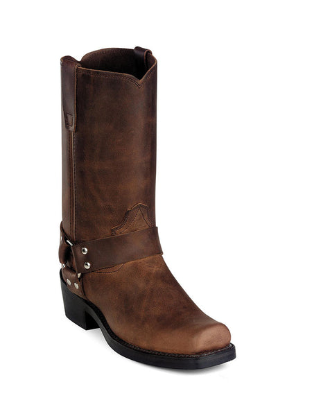 Men's Durango Distressed Brown Harness Boot DB594 Durango - J.C. Western® Wear