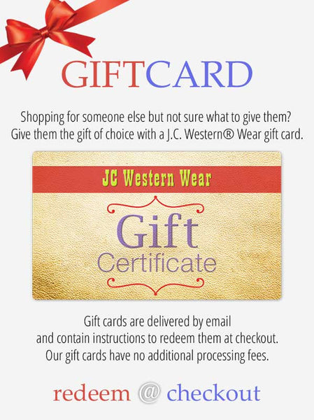 Gift Card, send Gift Certificate to someone special