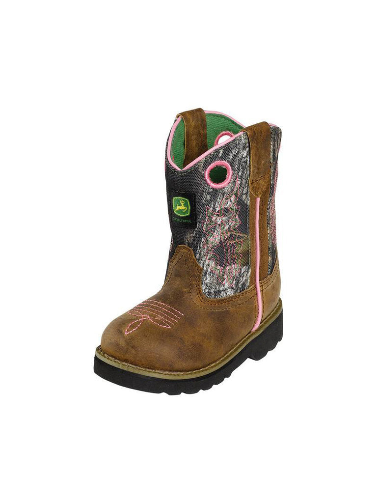 Kid's John Deere Infant Series Boots - JD1246 John Deere - J.C. Western® Wear