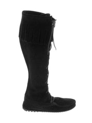 Women's Minnetonka Front Lace Knee Hi Tall Boots - 1429 Minnetonka - J.C. Western® Wear