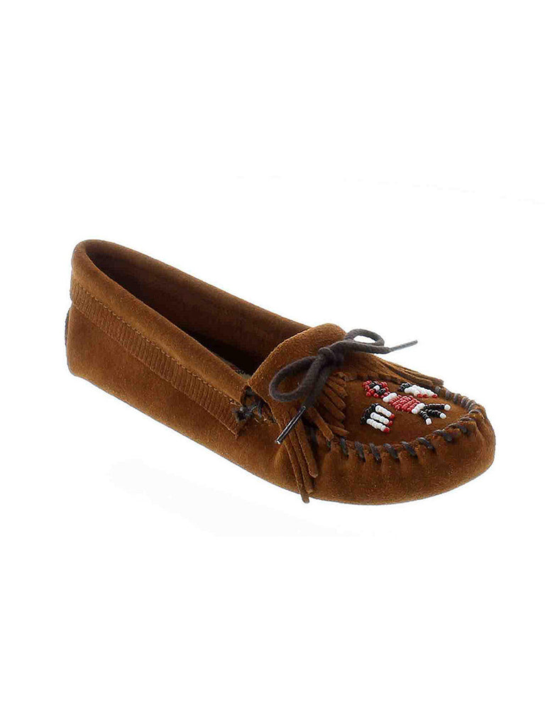 Minnetonka 152 Women's Thunderbird Softsole Moc Brown
