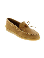 Men's Minnetonka Moosehide Natural Classic Mocassin 890 890W