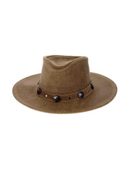Minnetonka Buffalo Nickel Hat 9513 Brown