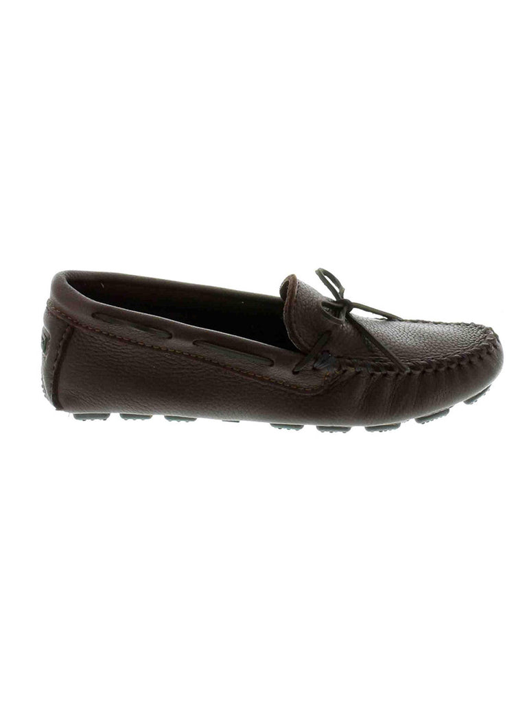 Minnetonka 952 Mens Moosehide Driving Moc Chocolate