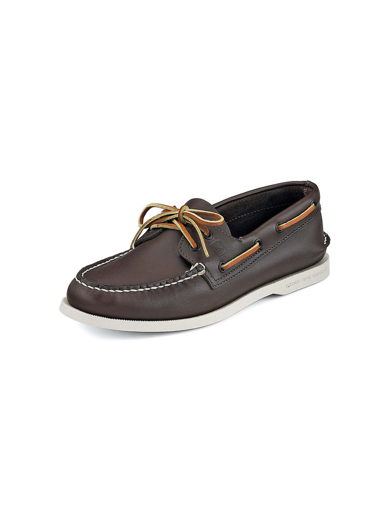 Mens Sperry Brown Authentic Original 2 Eye Boat Shoe