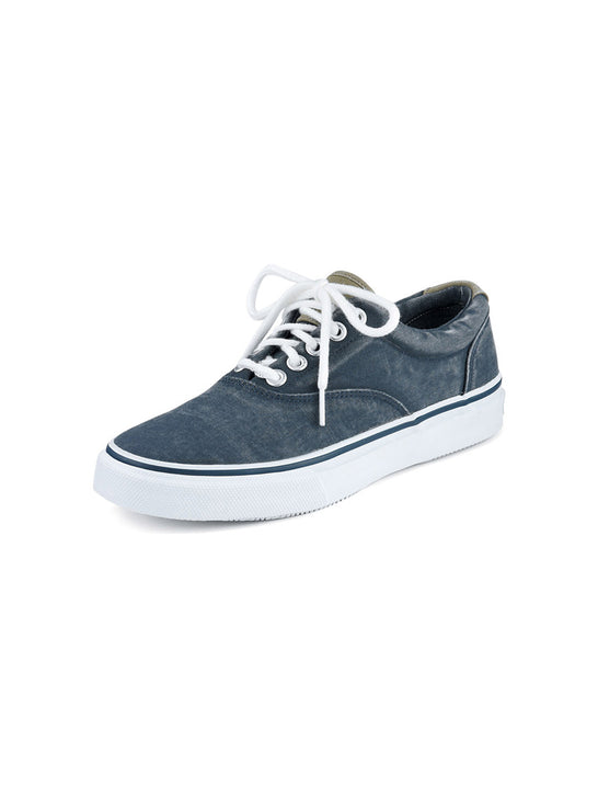 Sperry Mens Striper CVO Washed Navy Sneaker 1048024
