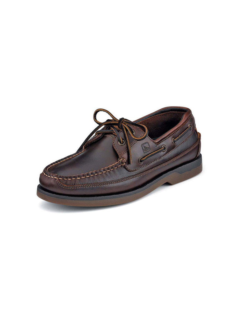 Sperry 0764027 Mens Amaretto Mako 2-Eye Canoe Moc Boat Shoe
