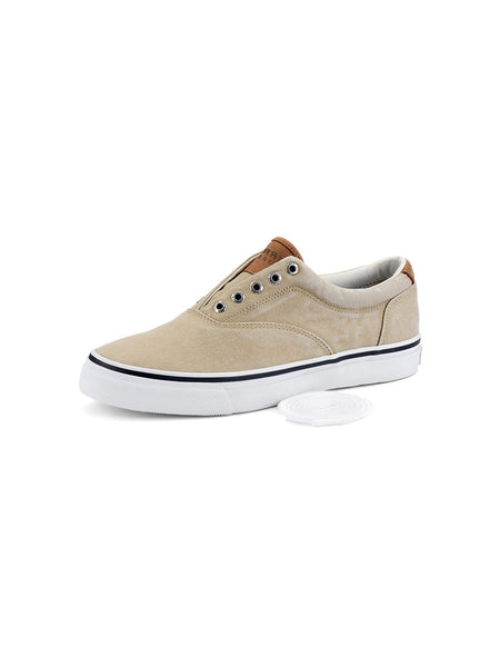 Men's Sperry Chino Striper CVO Salt Washed Twill Sneaker