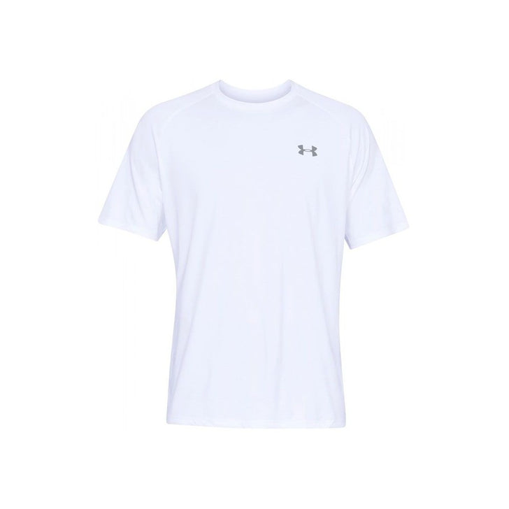 Under Armour 1326413-100 Mens Tech 2.0 Short Sleeve T-Shirt White