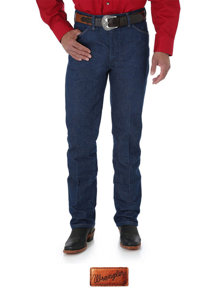 Wrangler 0936DEN Tall Cowboy Cut Slim Fit Jeans Rigid Indigo