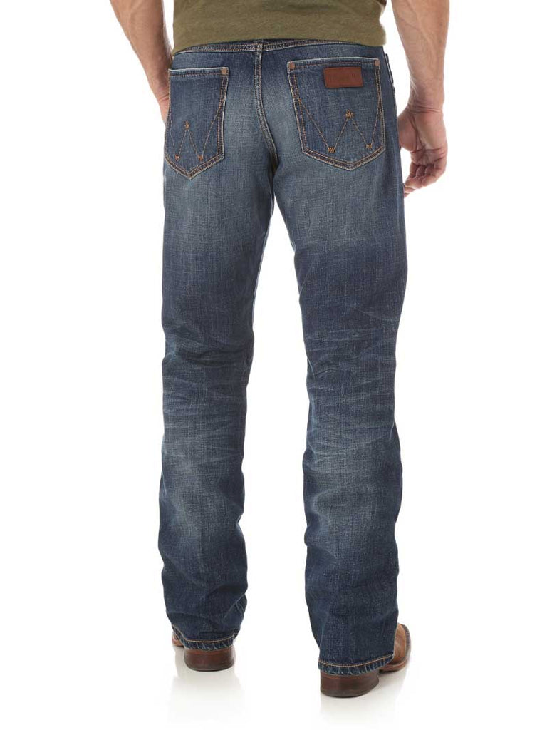 Wrangler Retro Relaxed Fit Bootcut Jean WRT20JH Wash
