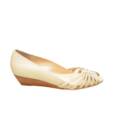 3033 LEATHER PUMPS, ALMOND