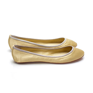 3060A SILK FLATS, YELLOW