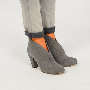 J571 SUEDE ANKLE BOOTS, GREY
