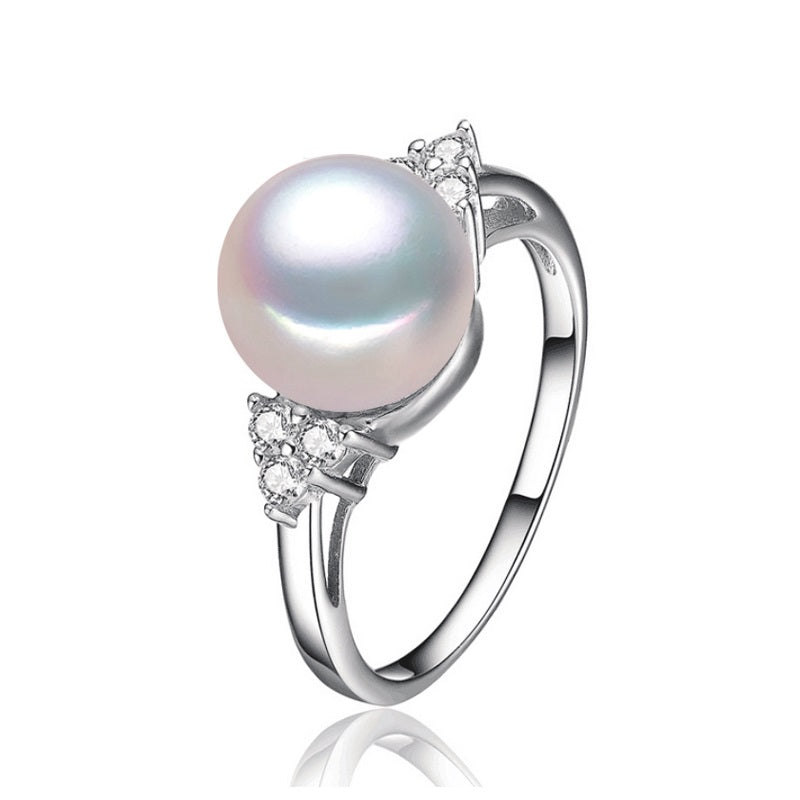 New Simple & Beautiful Natural Pearl Ring