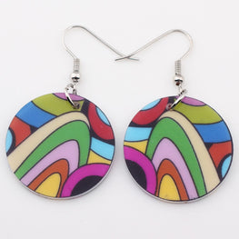 Beautiful Multi Coloured Earrings